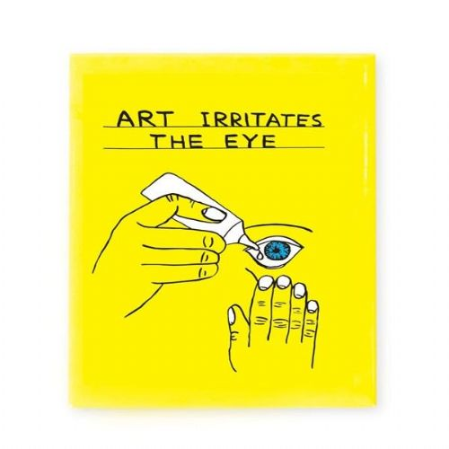 Art Irritates the Eye Magnet